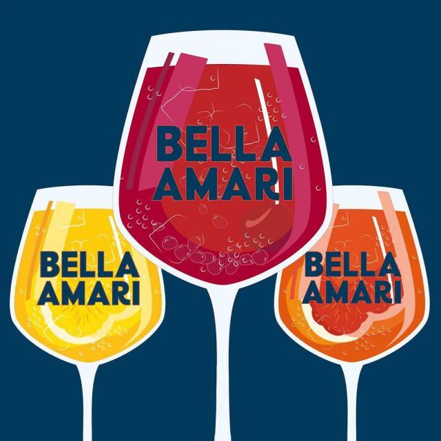 The perfect trio ✨🍹 • Le trio Bella Amari ✨🍹 . #beautifullybittersweet  #douceamertume